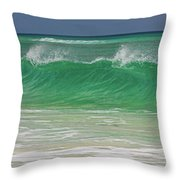 Ocean Wave 1 Throw Pillow