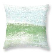 Ocean Wave 13 Throw Pillow