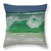 Ocean Wave 2 Throw Pillow
