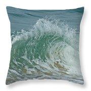 Ocean Wave 3 Throw Pillow