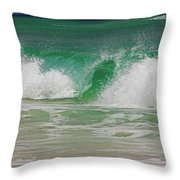 Ocean Wave 3 Throw Pillow