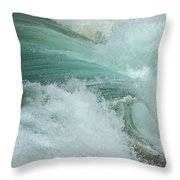 Ocean Wave 4 Throw Pillow