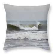 Ocean Wave Throw Pillow