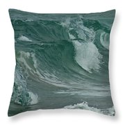 Ocean Waves 2 Throw Pillow