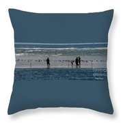 Ocean Way Throw Pillow
