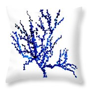 Oceanic Plant Throw Pillow