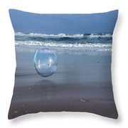 Oceanic Sphere  Throw Pillow