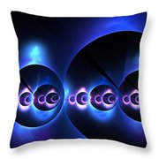 Oceanic Spheres Throw Pillow