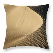 Oceano Dunes II Throw Pillow