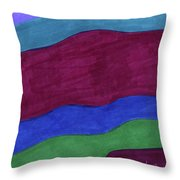 Oceans 1 Throw Pillow