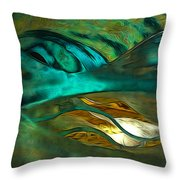Oceans About You Throw Pillow