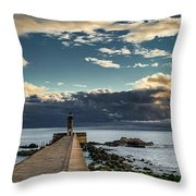 Ocean's Skys Throw Pillow