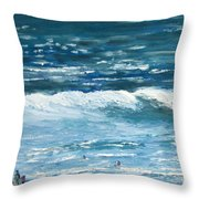 Oceanside 3 O'clock Throw Pillow