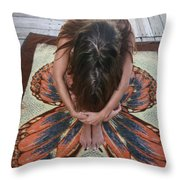 Ochopee Fl. Butterfly Throw Pillow