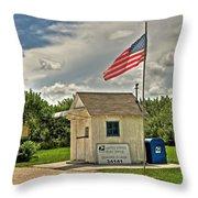 Ochopee Florida Post Office  Throw Pillow