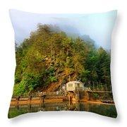 Ocoee Dam 2 Throw Pillow
