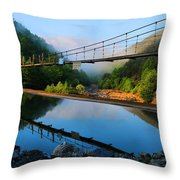 Ocoee Dam 3 Throw Pillow