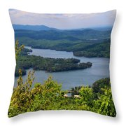 Ocoee Lake 2 Throw Pillow