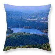 Ocoee Lake Throw Pillow