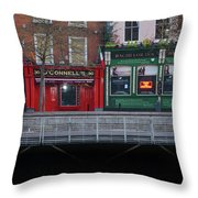 Oconnells Pub And The Batchelor Inn - Dublin Ireland Throw Pillow