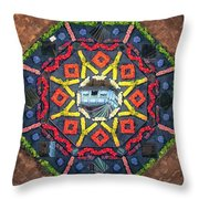 Octagon Throw Pillow by James Billings