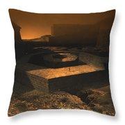 Octagon Throw Pillow