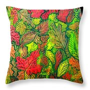October 21st. Throw Pillow