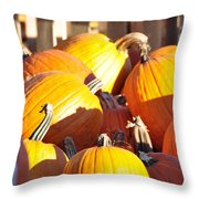 October Color Throw Pillow