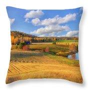 October Countryside 3 Throw Pillow