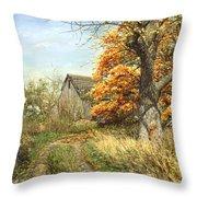 October Glory Throw Pillow