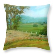 October Hills In Middletown Md Throw Pillow
