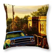October Light In Duluth Throw Pillow