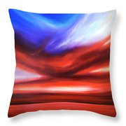 October Sky V Throw Pillow
