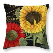 October Sun II Throw Pillow