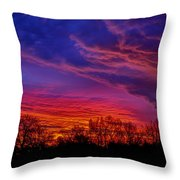 October Sunrise 3 Throw Pillow