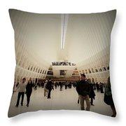 Oculus Made In New York  Throw Pillow