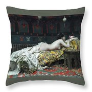 Odalisque Throw Pillow