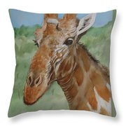 Odd Fellow Throw Pillow