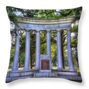 Odd Fellows Memorial Throw Pillow