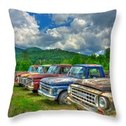 Odd Man Out Fords And Friend  Throw Pillow