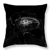 Oddysea Black Throw Pillow