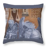 Ode To Durer Throw Pillow