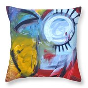 Ode To Jim Dine Throw Pillow
