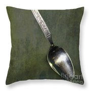 Ode To The Lone Spoon Print 1 Throw Pillow