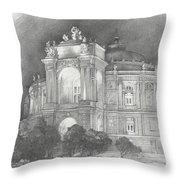Odessa Theater  Throw Pillow