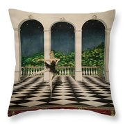 Odile From Swan Lake Throw Pillow
