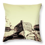 Of Different Eras Throw Pillow