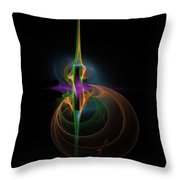 Of Note Throw Pillow