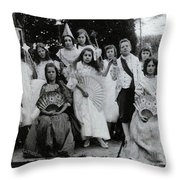 Of Prince And Princess Throw Pillow