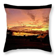 Rooftop Soliloquy Throw Pillow